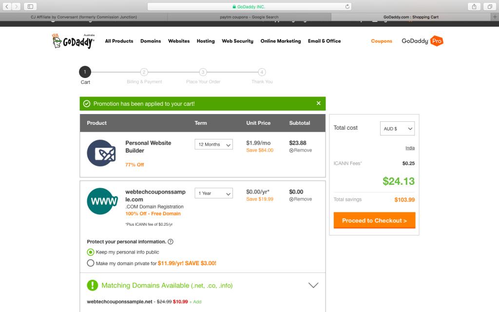Website Builder for $24