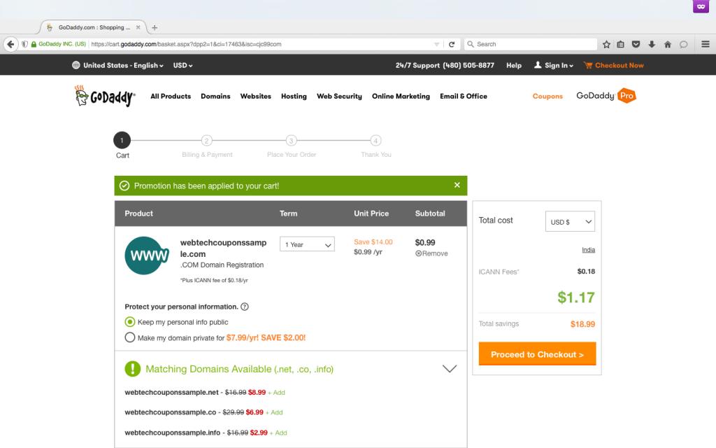 $.99 .com Domain Name