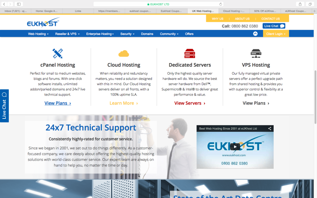 eukhost services