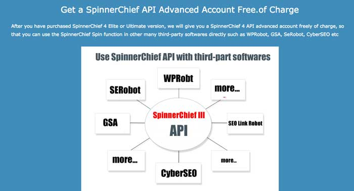 Spinner Chief API