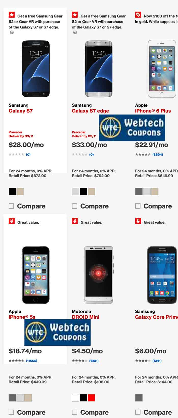 Save on mobile phones using Verizon Wireless Promo Codes