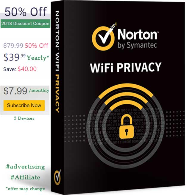 Norton Wifi Privacy Offer