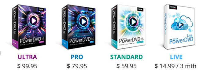 Power DVD 16 Coupons