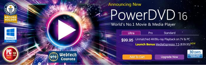 PowerDvd 16 Offer