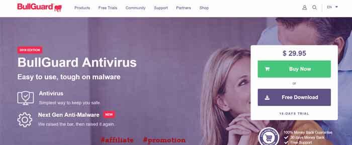 Bullguard Antivirus Protection