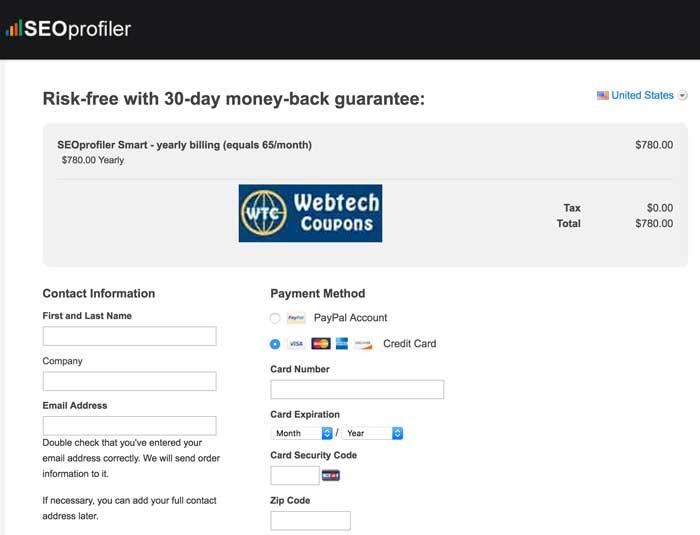 SEOprofiler offers