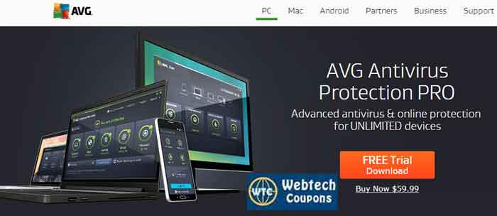 AVG Protection Pro Coupons
