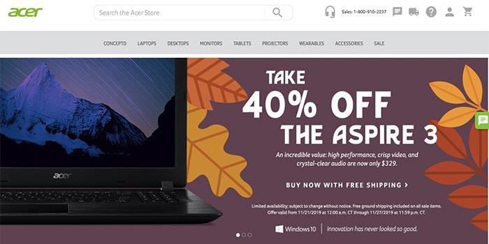 Acer Black Friday Sale
