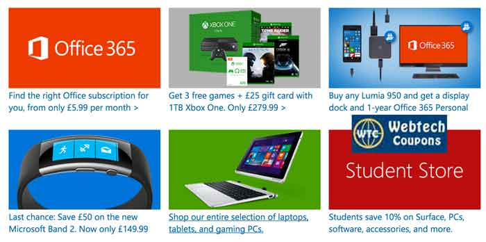 Microsoft United Kingdom Coupons