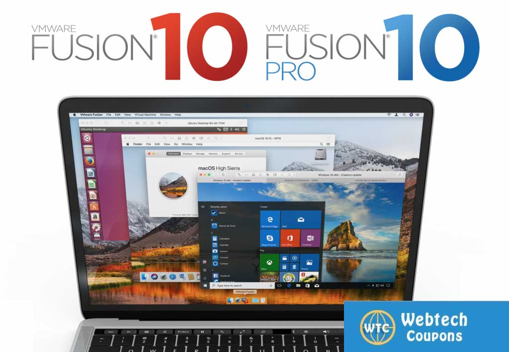 VMware Fusion 10 coupon code