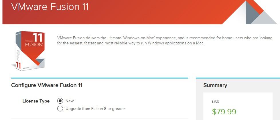 VMware Fusion 11 Coupon Code
