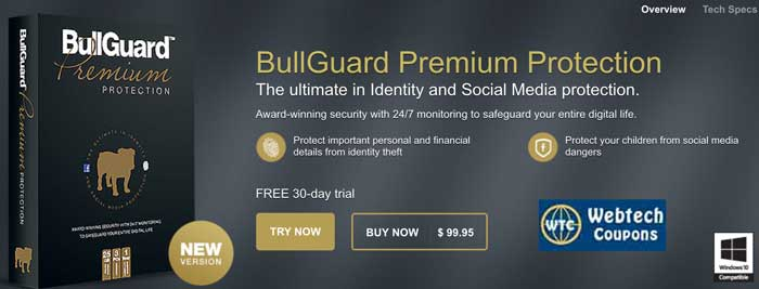 BullGuard Premium Protection Coupons for best savings