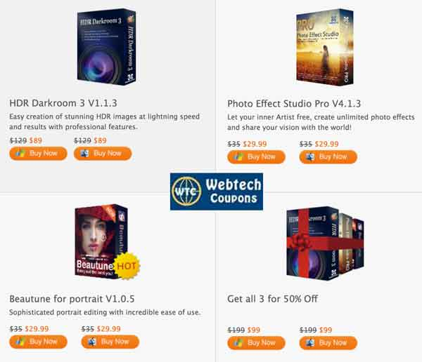 Everimaging Image Editing Tool Promo Codes