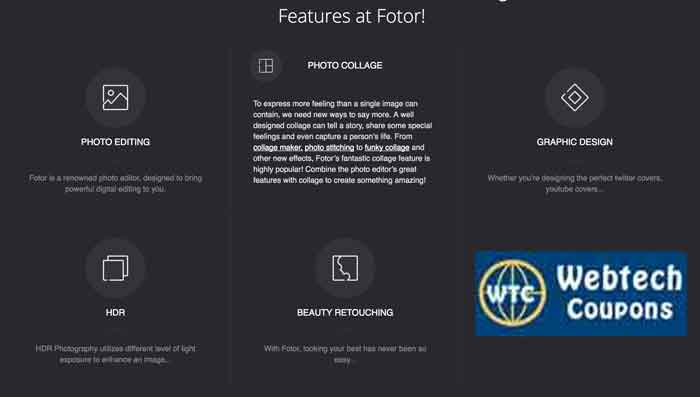 Fotor Features Along With Promo Codes