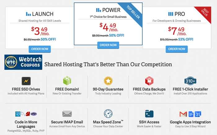 Best about inmotion shared business hosting packges