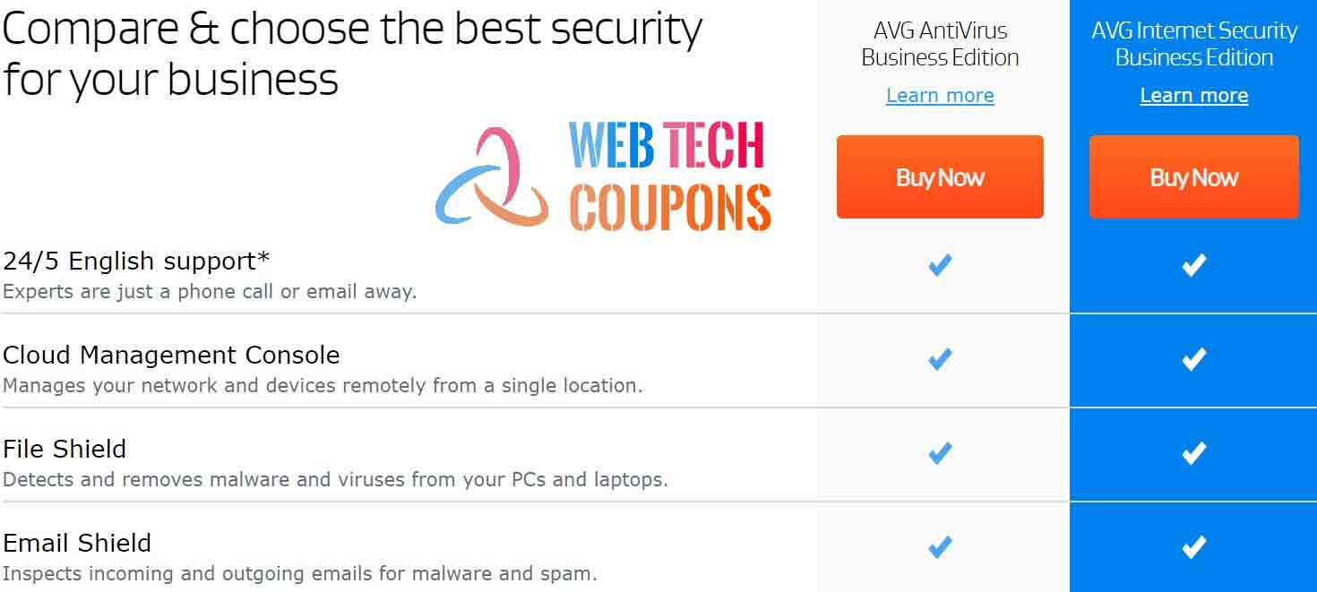 AVG Business Coupon Code