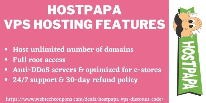 HostPapa VPS Discount Deal