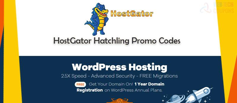 Hostgator Hatchling coupon codes