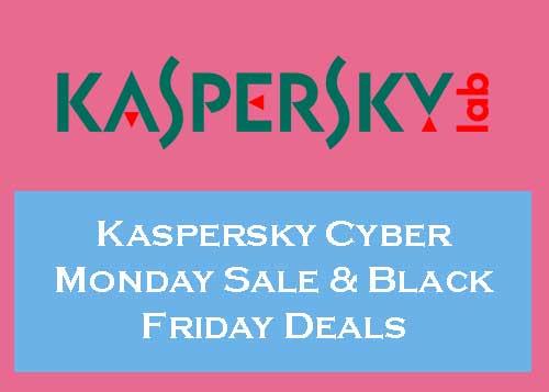 Upto 80 Off Kaspersky Black Friday Cyber Monday Deals 2020