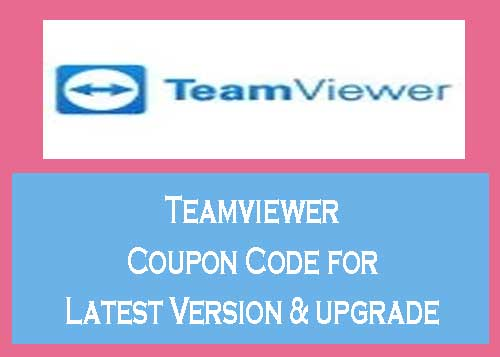 teamviewer coupon may 2021