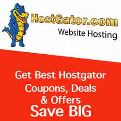 Live Hostgator Coupon for Web Hosting & Dedicated Servers.