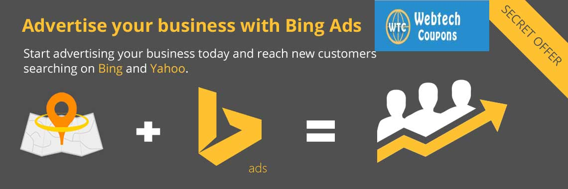 Advertise your business with Bing Search Engine