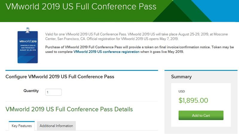VMworld 2019 US Full Conference