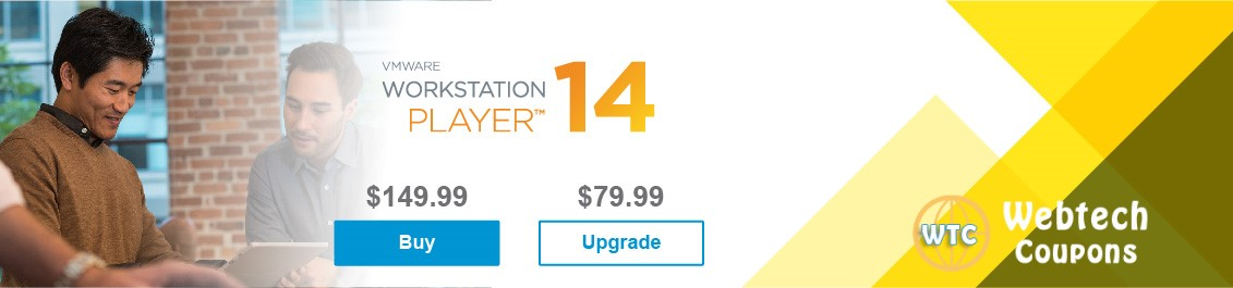 VMware Workstation 15 Coupon Code 2019: Player, Pro 14 Discount