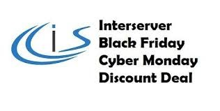 Interserver Black Friday Sale & Cyber Monday discount