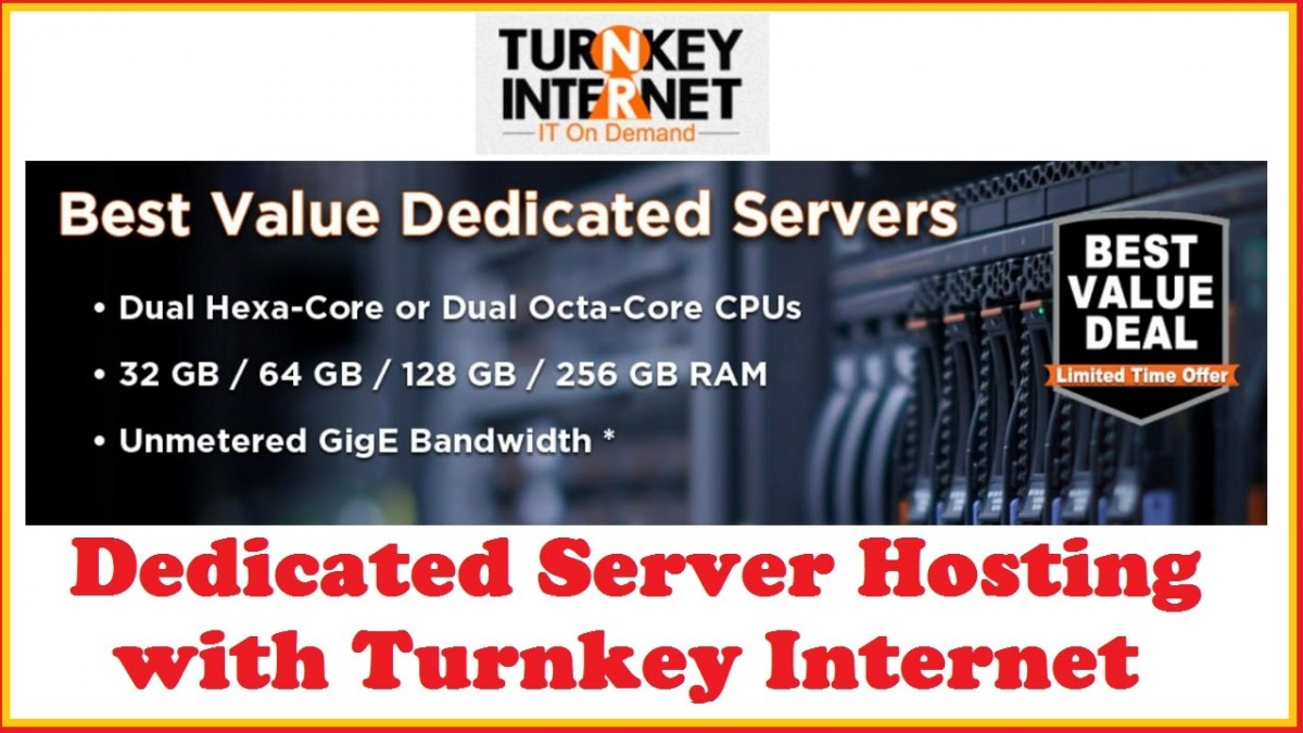 TrunKey Internet dedicated server Coupon