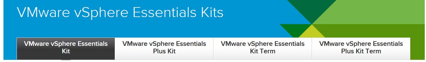 VMware vSphere essentials kits Coupon