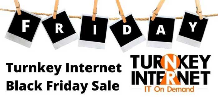 Turnkey Cyber Monday Sale