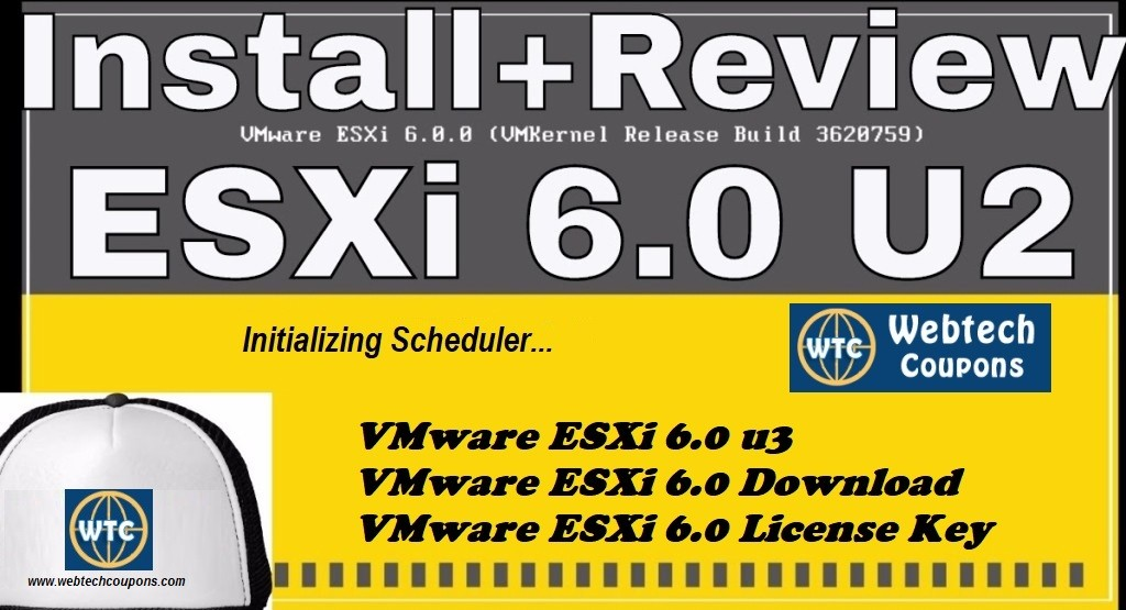 VMware ESXi 6.0 Coupons