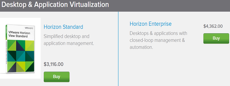 VMware Horizon Coupon code