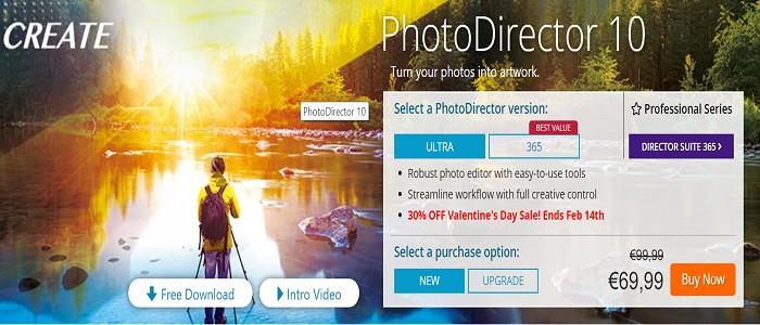cyberlink photodirector 10 coupon