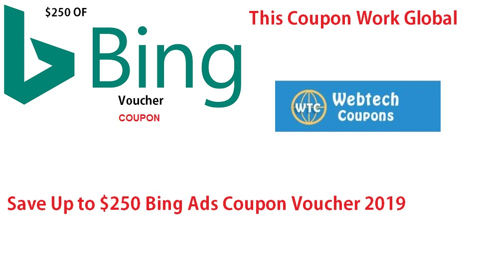 $250 OF Bing ad Voucher