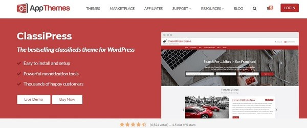Classipress Premium WordPress Theme Coupon