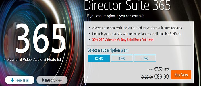 CyberLink Director Suite 365 Coupon Code