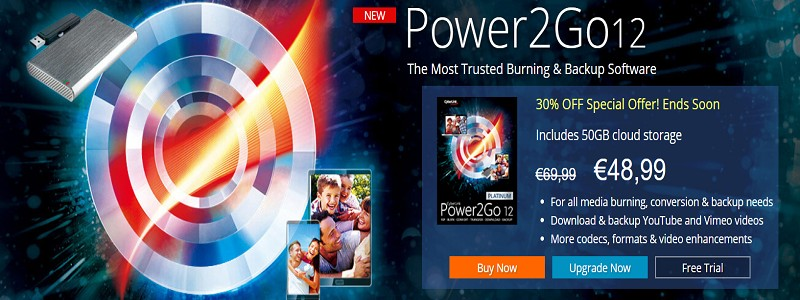 CyberLink Power2Go Coupon code