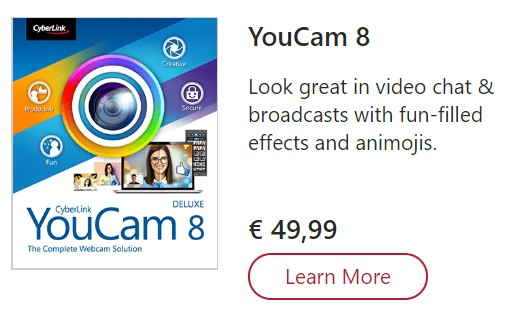 Cyberlink Youcam 8 Coupon Code