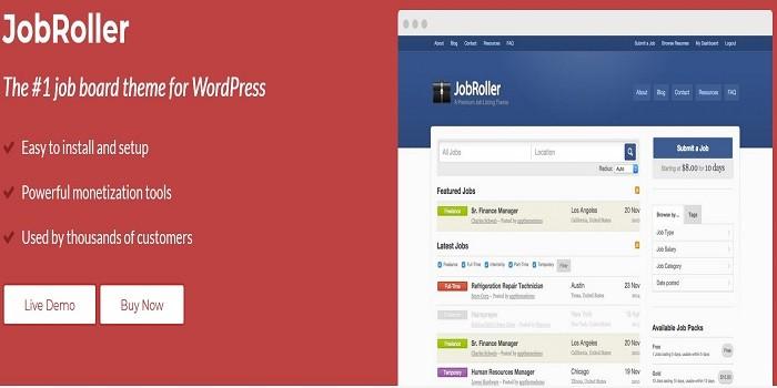 Appthemes Jobroller Premium WordPress Theme