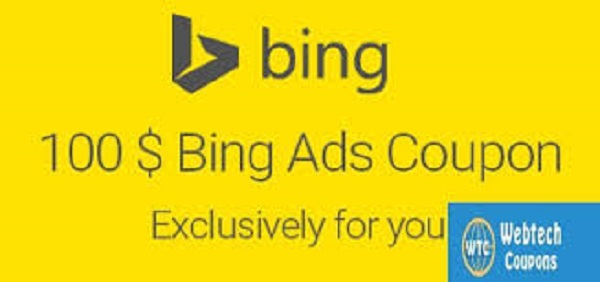 Bing ads $100 Coupon Code