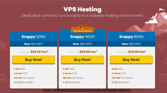 hostgator vps hosting discount coupons