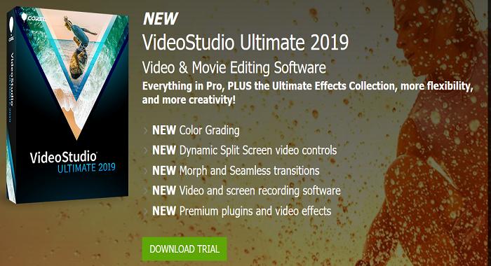 Corel VideoStudio Ultimate 2019 Coupon Code