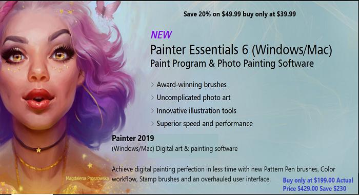 Painter Essentials 6 Coupon Code
