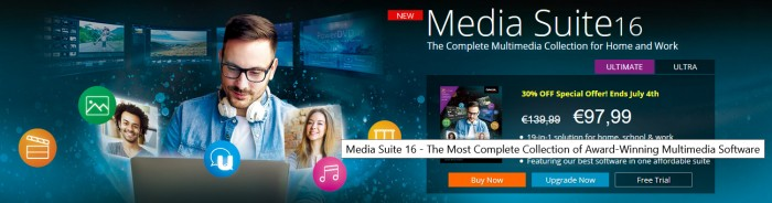 CyberLink Media Suite 16 Coupon Code
