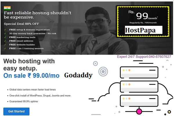 Hostpapa vs. Godaddy