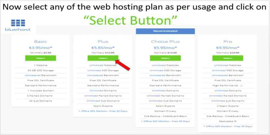 Discount Coupons for Bluehost