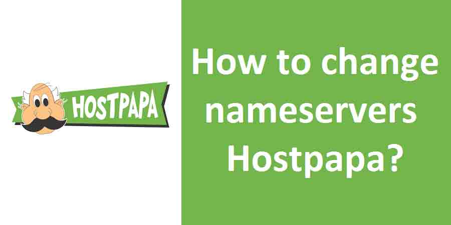 How to change nameservers Hostpapa