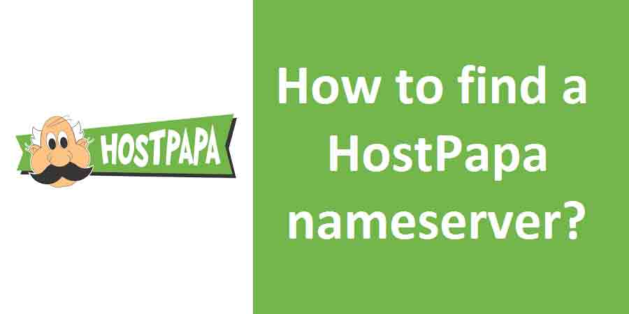 How to find a HostPapa nameserver